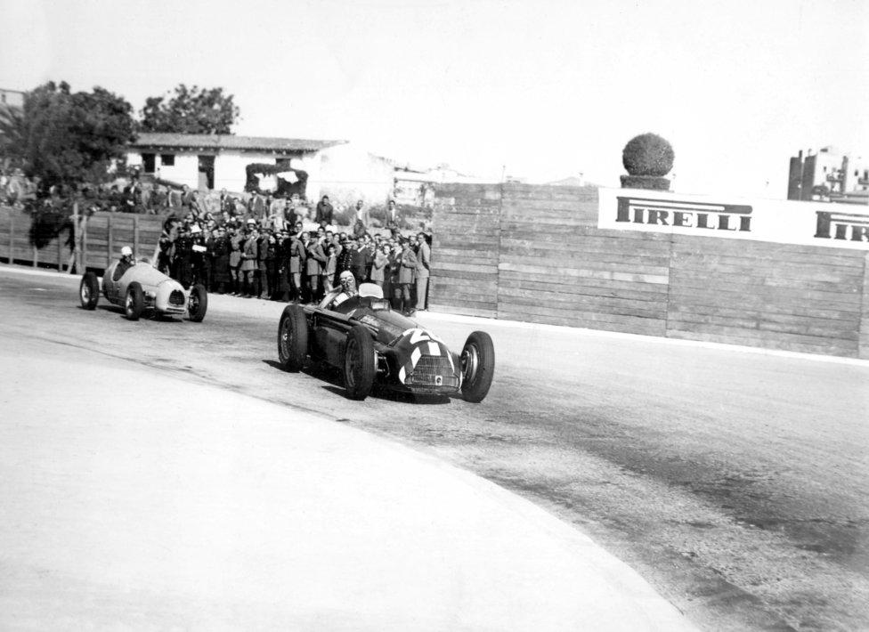 Circuito de Pedralbes (Barcelona) Temporadas 1951 y 1954.
