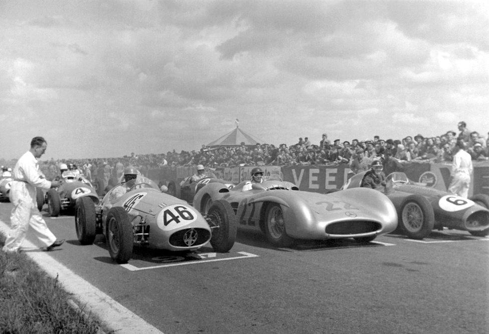 Circuito de Reims (Francia) Temporadas: 1950-1951, 1953-1954, 1956, 1958-1961, 1963 y 1966.