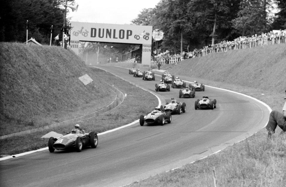 Circuito de Rouen-les Essarts (Francia) Temporadas: 1952, 1957, 1962, 1964 y 1968.