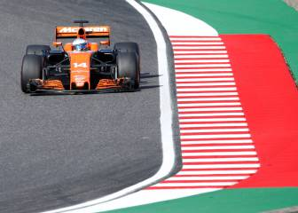 Fernando Alonso hit with reprimand and penalty points