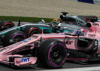 Mercedes 'trolea' a Force India por el color del cempasúchil