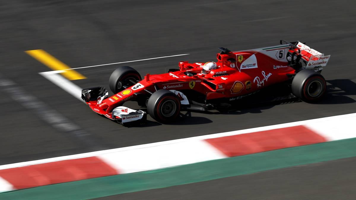 Gran pole de Vettel en México y Alonso regala esperanza
