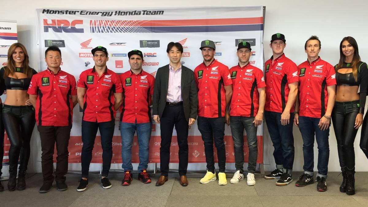 Barreda lidera el 'dream team' de Honda para ganar el Dakar