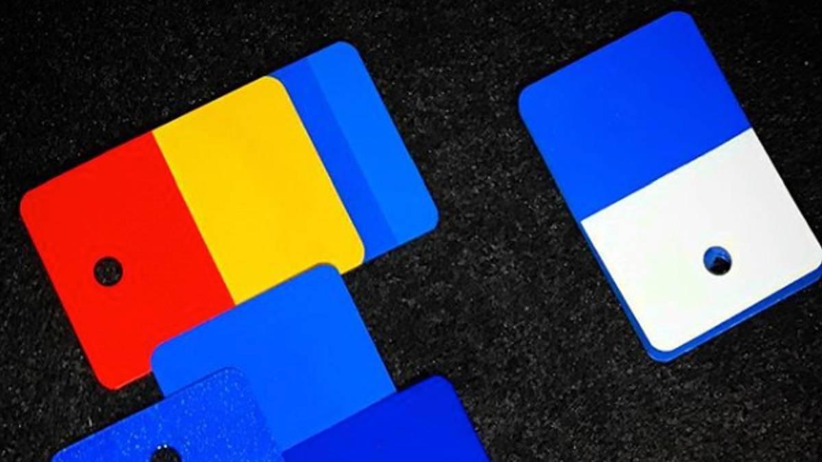 Alonso ya prepara el casco de 2018: colores azul, rojo y amarillo