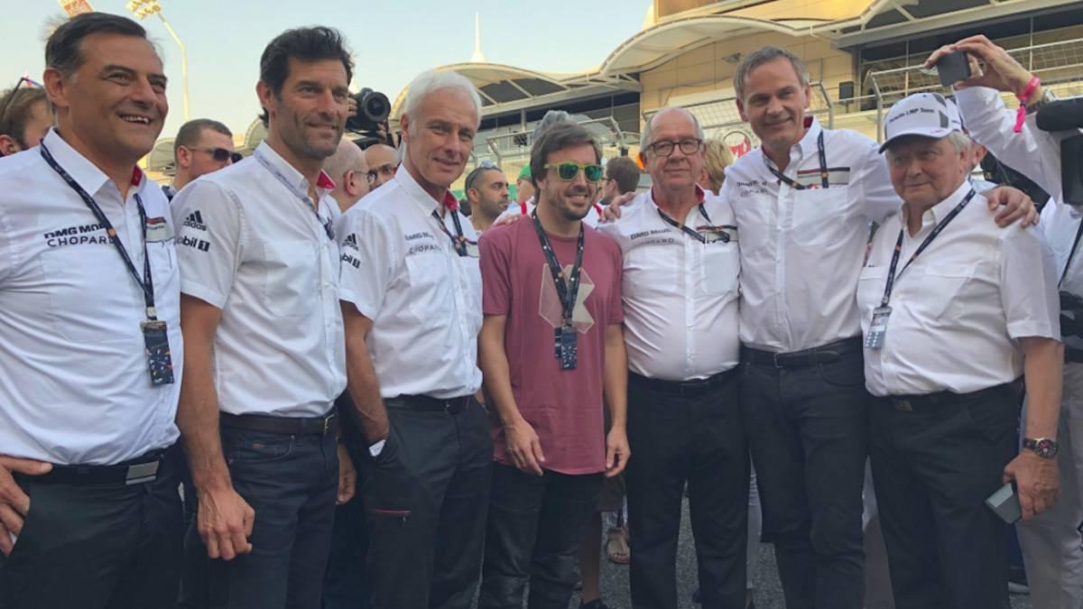Alonso está en Bahréin con el test de rookies como objetivo