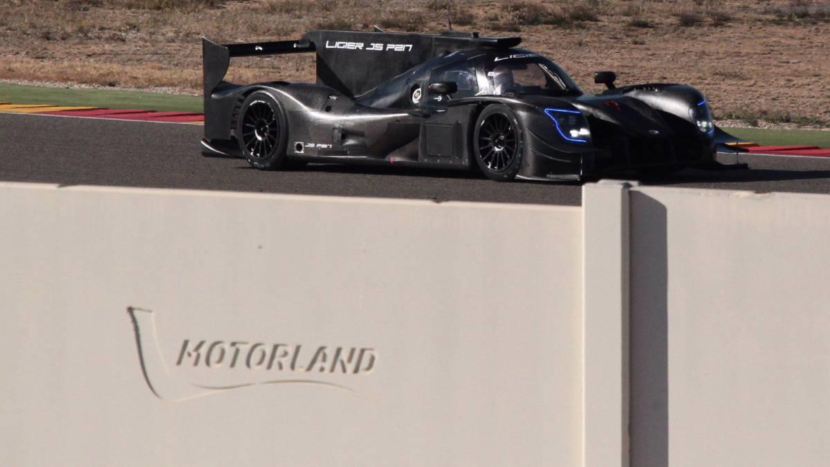 Alonso: primer test con el Ligier de Daytona en Motorland