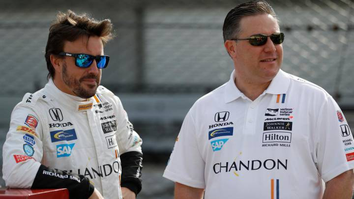 Alonso McLaren Zak Brown