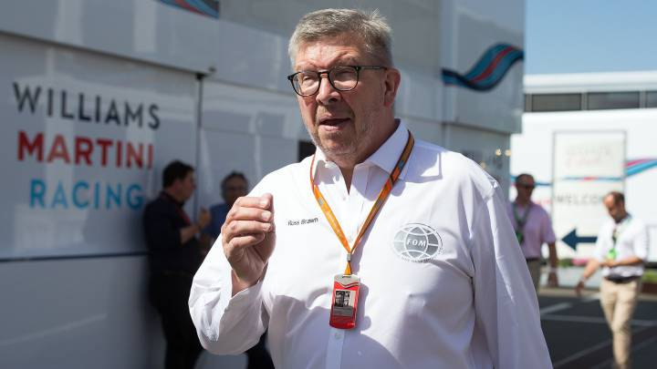 Ross Brawn, director deportivo de la F1.
