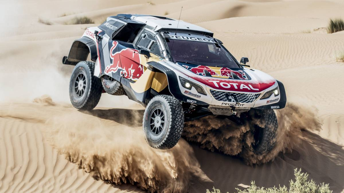 dakar 2018 peugeot el concepto de buggy frente al escuadr n de 4x4. Black Bedroom Furniture Sets. Home Design Ideas