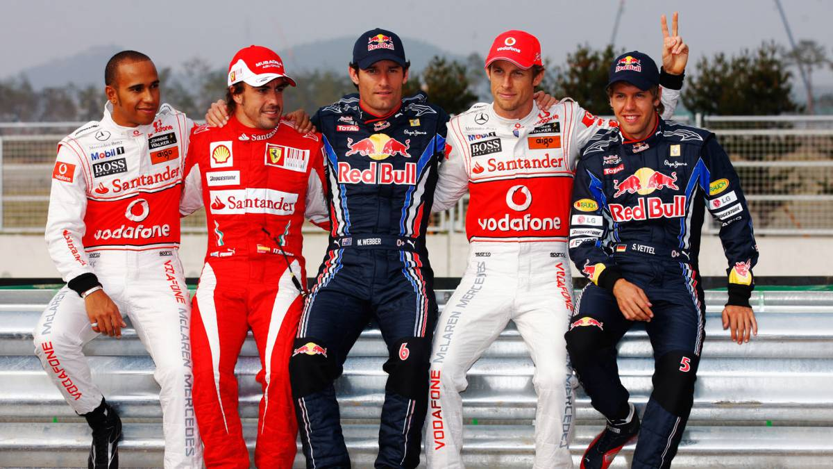 Alonso, Red Bull y McLaren.