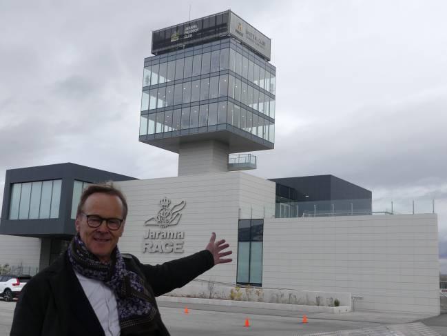Ari Vatanen visitó las nuevas instalaciones del Jarama.