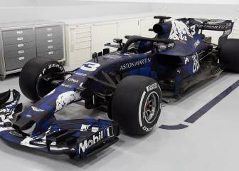 New car for 2018: Red Bull's Renault RB14 with Aston Martin