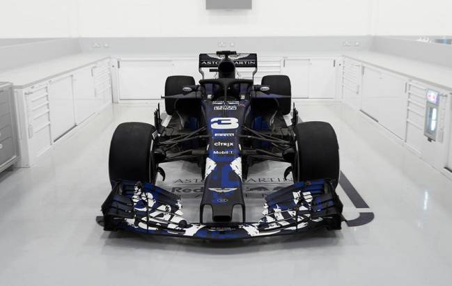 Vista frontal del RB14.