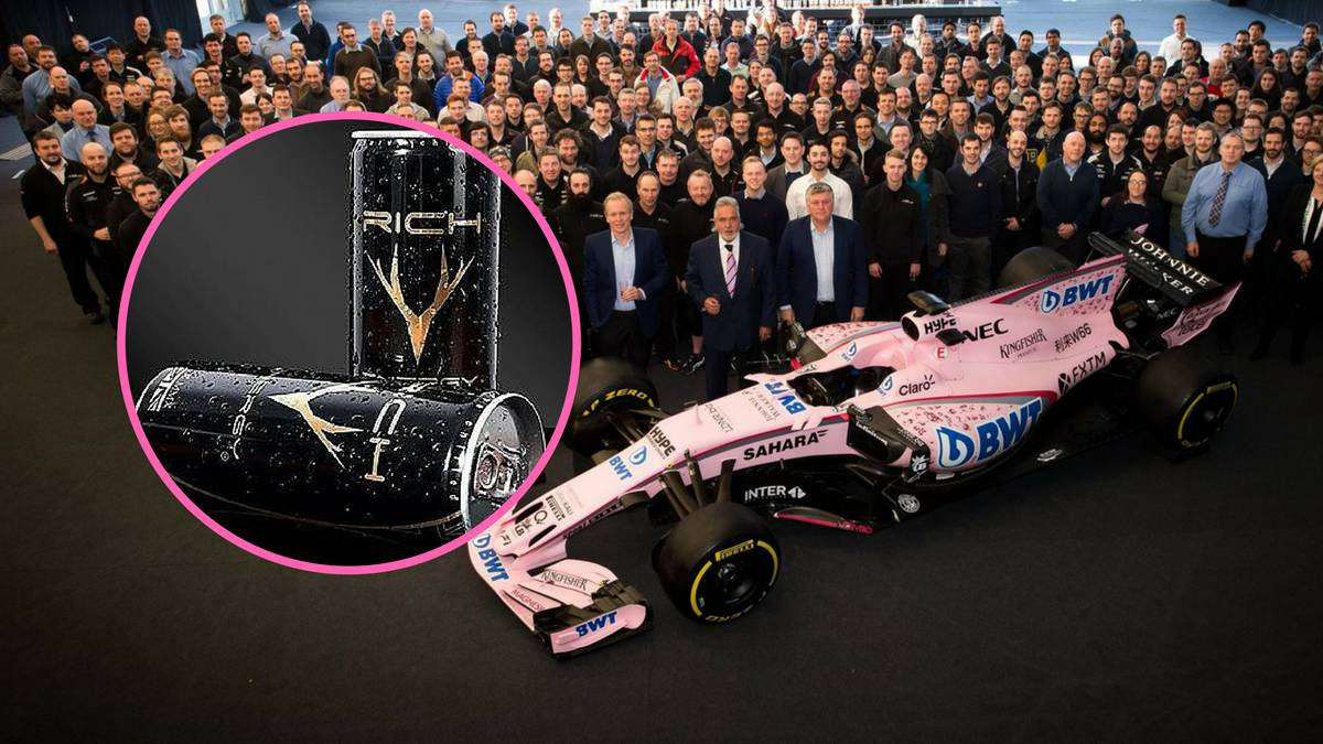 La marca de bebidas energéticas Rich Energy negocia la compra de Force India.