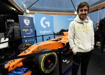 Fernando Alonso llevó la F1 al Mobile World Congress