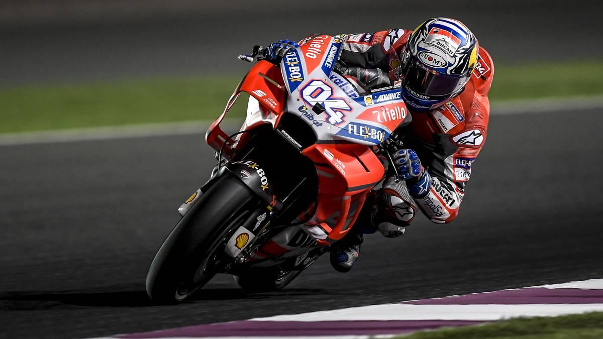 MOTOGP | LA INTRAHISTORIA Dovizioso se pone a 420km/h... por error del circuito de Qatar - AS.com