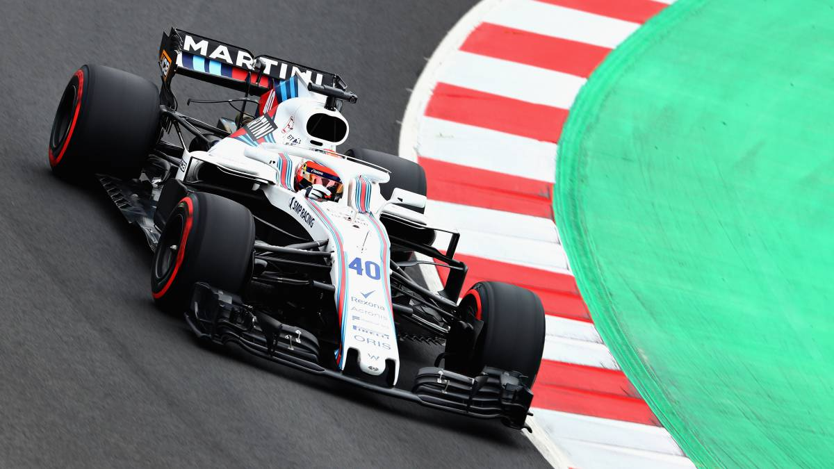 Robert Kubica, probador de Williams