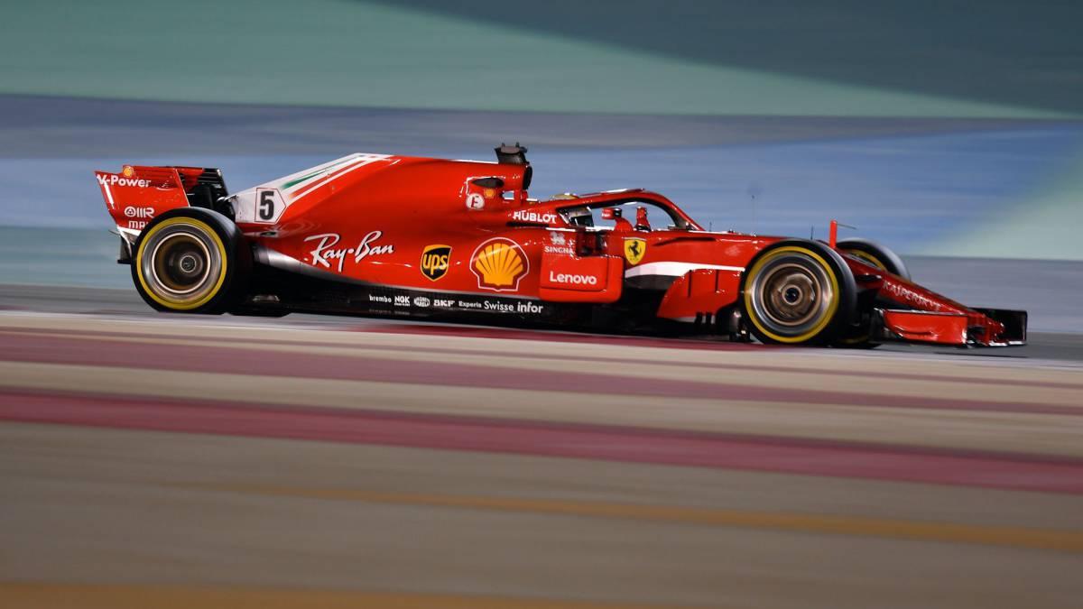 Resumen clasificación GP de Bahréin de F1 en Sakhir