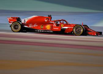 Vettel grabs pole in Bahrain in Ferrari one-two
