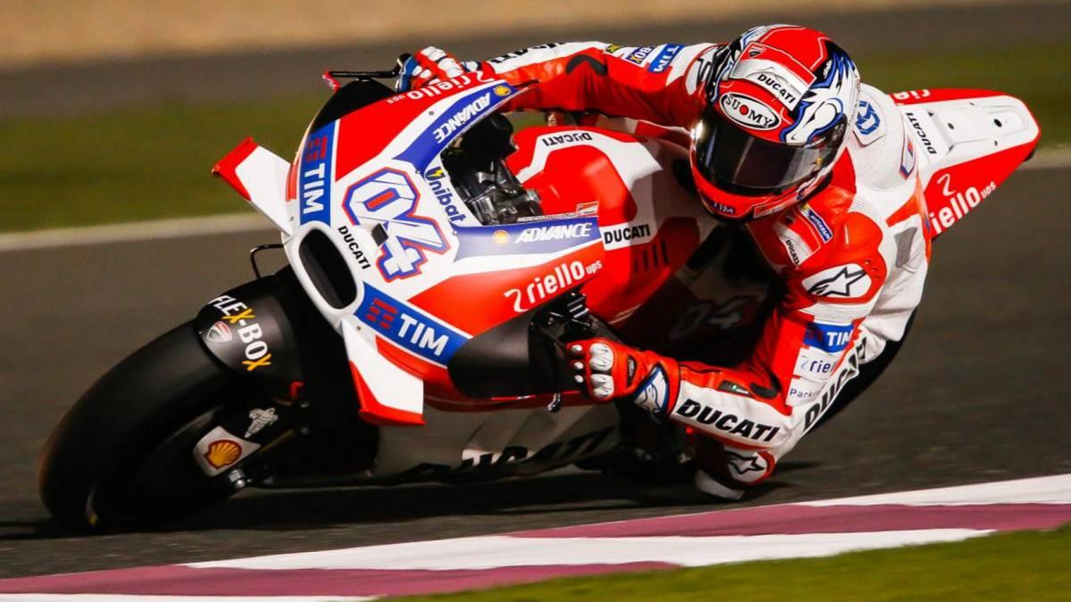 Andrea Dovizioso, con la Ducati.