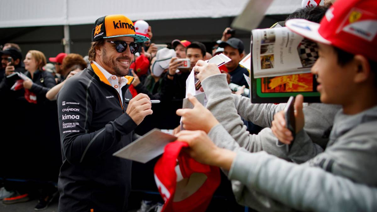 Alonso comple 300 grandes premios cerca del adiós