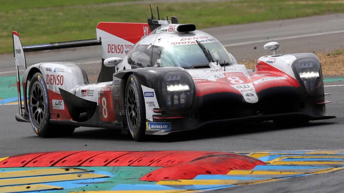 El Toyota TS050 Hybrid de Fernando Alonso.
