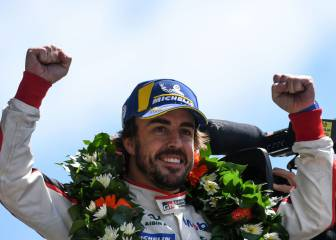 Fernando Alonso persigue la Triple Corona de campeonatos
