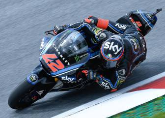 Bagnaia se anota la pole en Red Bull Ring con solidez