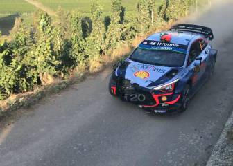 Dani Sordo sufre un accidente en Alemania