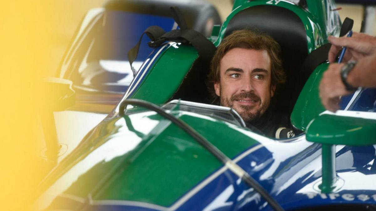 Alonso en el test de Barber.