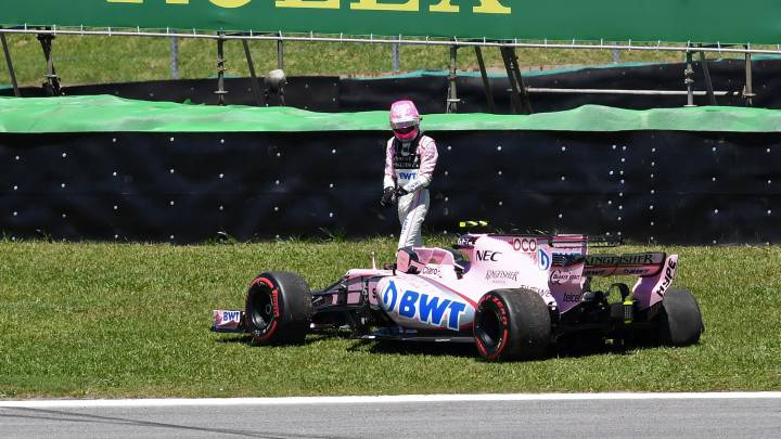 Esteban Ocon, piloto de Force India
