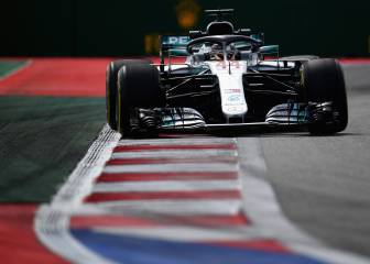 Mercedes y el graining asustan con Sainz 12º y Alonso 17º