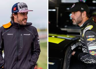 Alonso contra Jimmie Johnson: dos campeones, dos coches