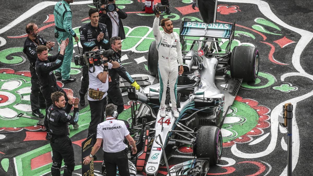 """Hamilton no se lo cree: """"Es como si viviera en un mundo virtual"""""""