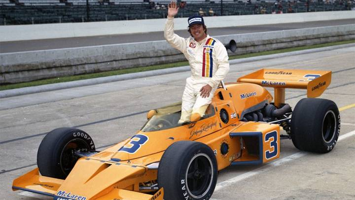 Johnny Rutherford.