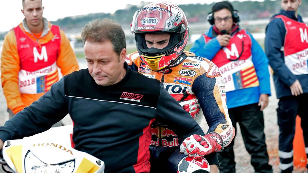 """Márquez: """"Arrastro la lesión del hombro desde Japón"""""""