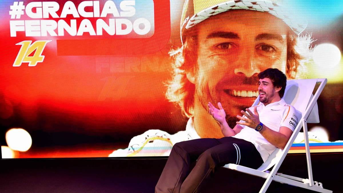 homenaje de la Fórmula 1 a Fernando Alonso