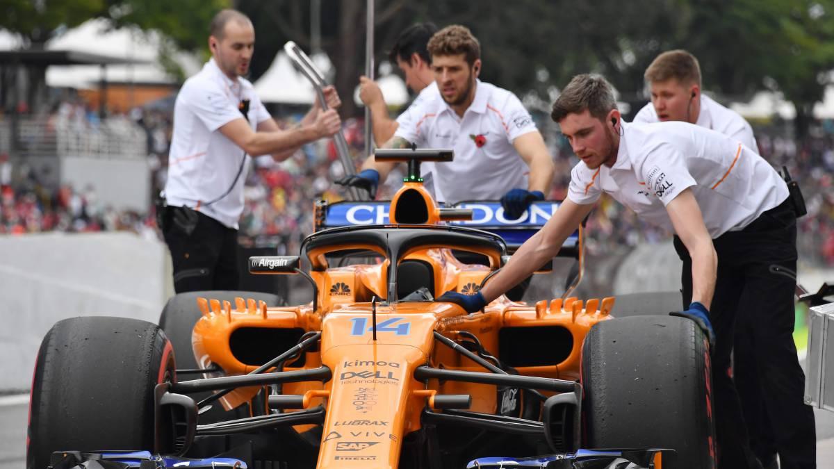 La reestructuración del equipo técnico de McLaren, en cifras
