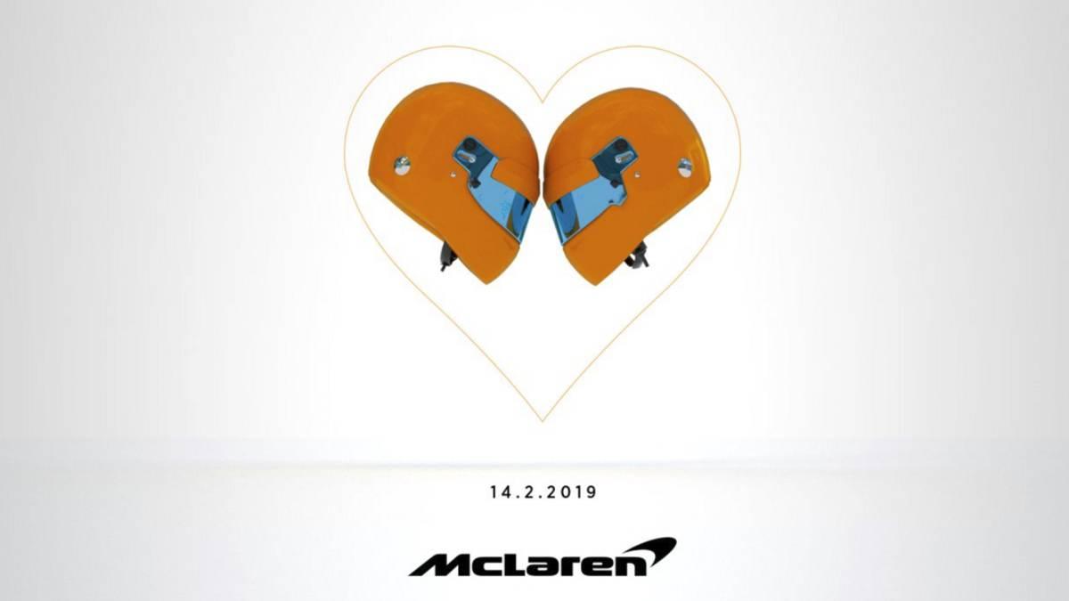 Presentación del McLaren de 2019.