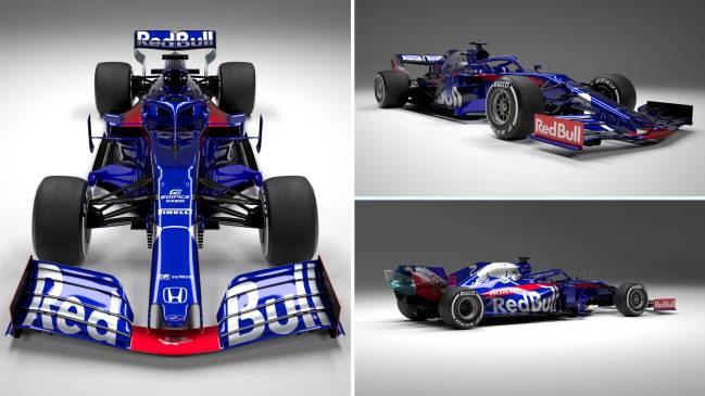 El Toro Rosso STR14 para el Mundial de F1 2019.