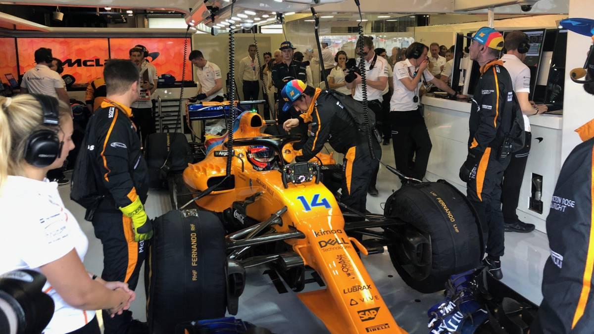 Alonso no pilotará el McLaren en los test de Barcelona