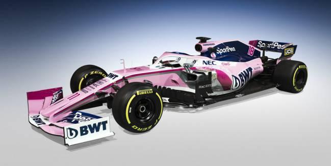 El nuevo Racing Point.