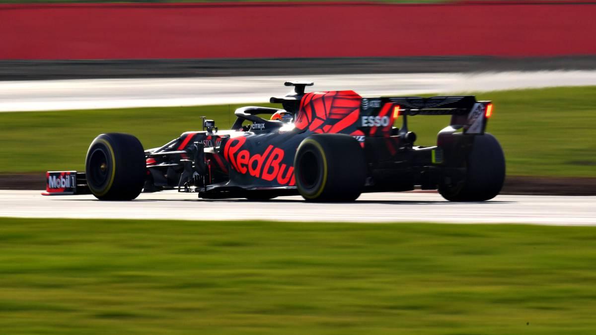 El Red Bull Honda del Mundial de F1 2019.