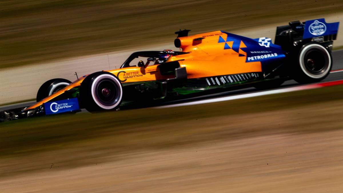 Carlos Sainz, con el McLaren MCL34 (F1 2019).