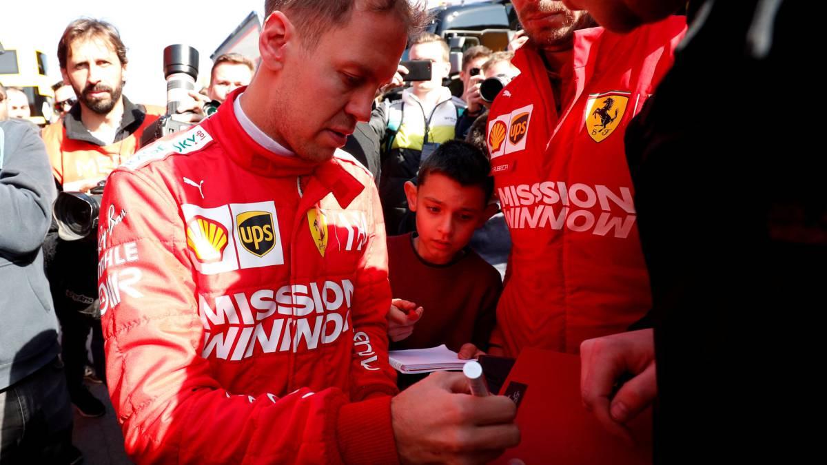 """Vettel: """"No podríamos haber esperado un día mejor"""""""