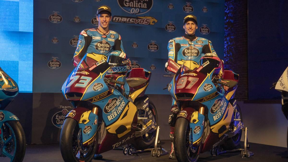 Motociclismo: El Estrella Galicia irá a por los títulos de Moto2 y Moto3 - AS.com