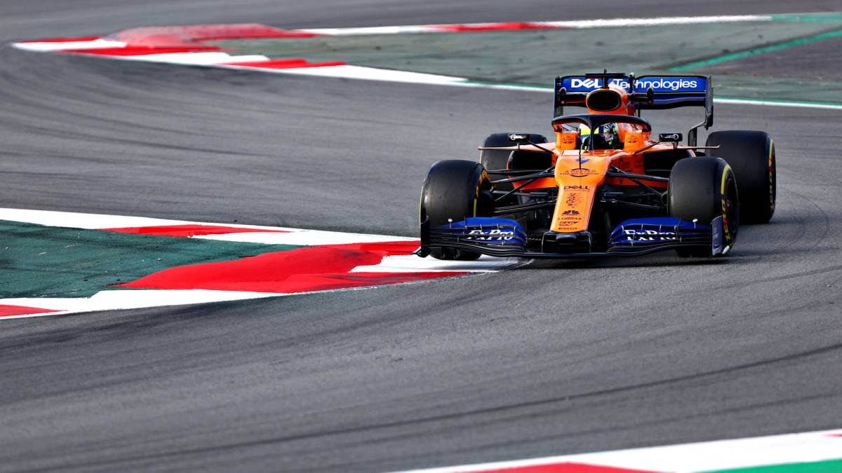 En directo test F1: Norris prueba la fiabilidad del McLaren