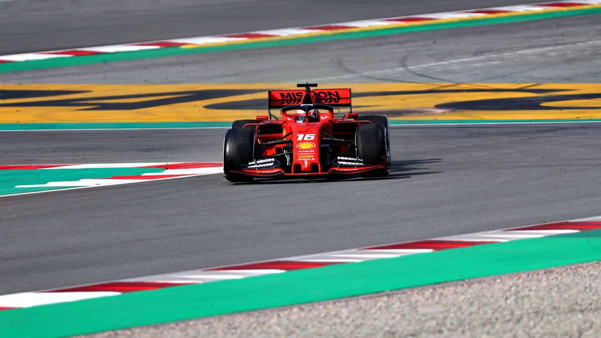Ferrari asusta con Leclerc y McLaren sigue convenciendo