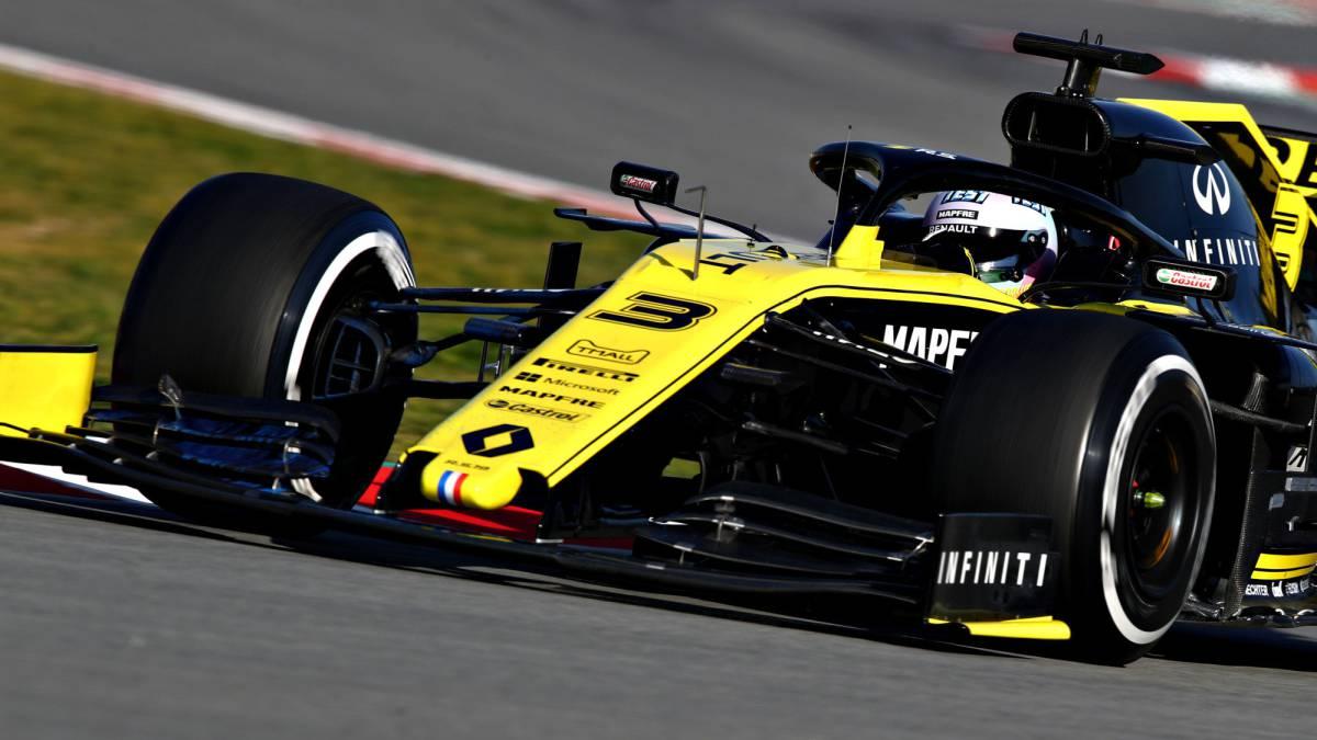 Resultado de imagen de Renault f1 test Montmelo 2019