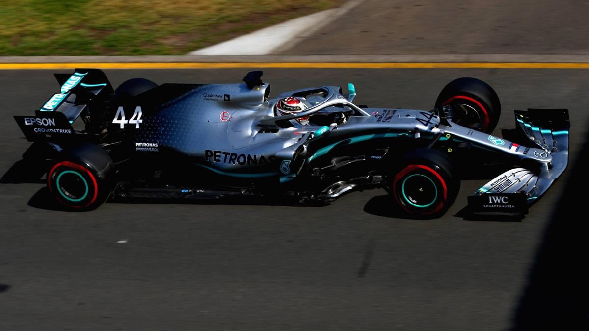 F1 GP de Australia en directo: nadie puede igualar a Hamilton